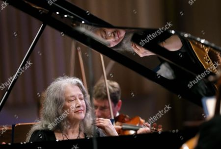 Stock Picture of Martha Argerich