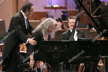 Martha Argerich and Charles Dutoit