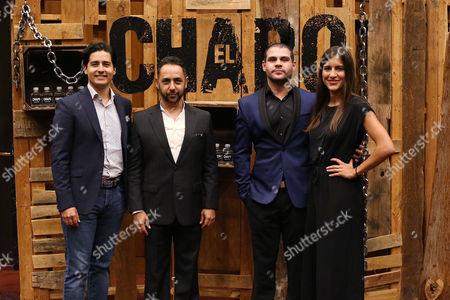 Christian Gabela, Humberto Busto, Marco de la O, Camila Jimenez Villa
