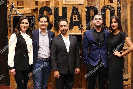 Katiria Soto, Christian Gabela, Humberto Busto, Marco de la O, Camila Jimenez Villa