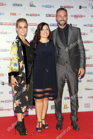 Stock Image of Georgia Luzi, Roberta Cavallo and Flavio Montrucchio