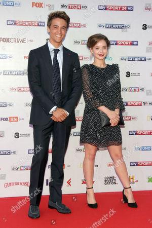 Stock Image of Leonardo Cecchi and Olivia Mai Barrett