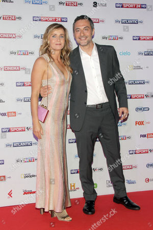 Lucia Mascino and Filippo Timi
