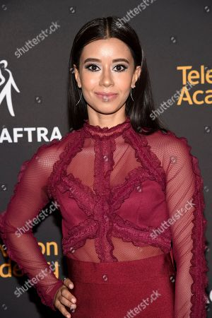 Sujata Day arrives at the 2017 Dynamic and Diverse Emmy Nominee Reception presented by the Television Academy, at the Saban Media Center in North Hollywood, Calif