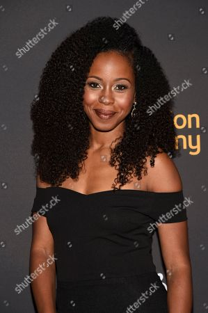 Danielle Mone Truitt arrives at the 2017 Dynamic and Diverse Emmy Nominee Reception presented by the Television Academy, at the Saban Media Center in North Hollywood, Calif