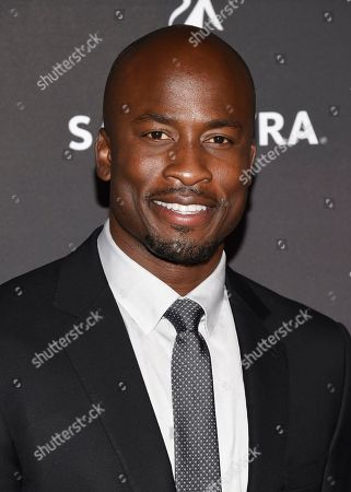 Akbar Gbajabiamila arrives at the 2017 Dynamic and Diverse Emmy Nominee Reception presented by the Television Academy, at the Saban Media Center in North Hollywood, Calif