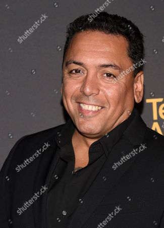 Stock Photo of Felix Solis arrives at the 2017 Dynamic and Diverse Emmy Nominee Reception presented by the Television Academy, at the Saban Media Center in North Hollywood, Calif