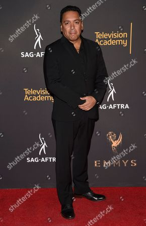 Felix Solis arrives at the 2017 Dynamic and Diverse Emmy Nominee Reception presented by the Television Academy, at the Saban Media Center in North Hollywood, Calif