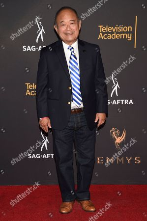 Clyde Kusatsu arrives at the 2017 Dynamic and Diverse Emmy Nominee Reception presented by the Television Academy, at the Saban Media Center in North Hollywood, Calif