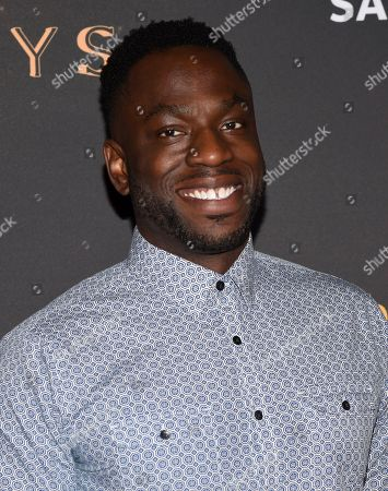 Hans Charles arrives at the 2017 Dynamic and Diverse Emmy Nominee Reception presented by the Television Academy, at the Saban Media Center in North Hollywood, Calif