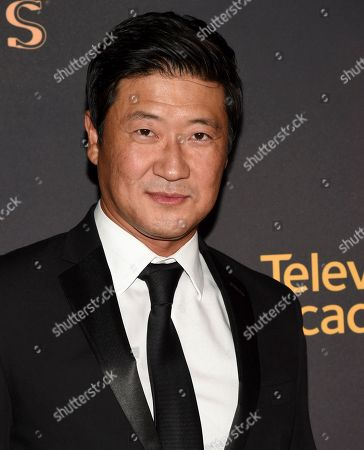 Tom Choi arrives at the 2017 Dynamic and Diverse Emmy Nominee Reception presented by the Television Academy, at the Saban Media Center in North Hollywood, Calif