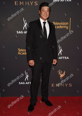 Stock Image of Tom Choi arrives at the 2017 Dynamic and Diverse Emmy Nominee Reception presented by the Television Academy, at the Saban Media Center in North Hollywood, Calif