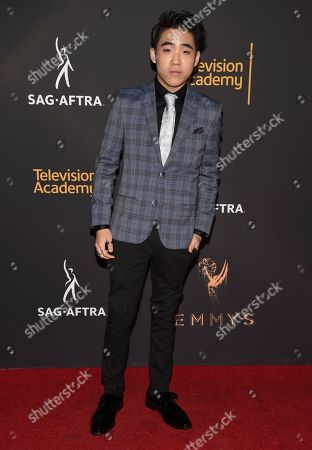 Stock Picture of Lance Lim arrives at the 2017 Dynamic and Diverse Emmy Nominee Reception presented by the Television Academy, at the Saban Media Center in North Hollywood, Calif