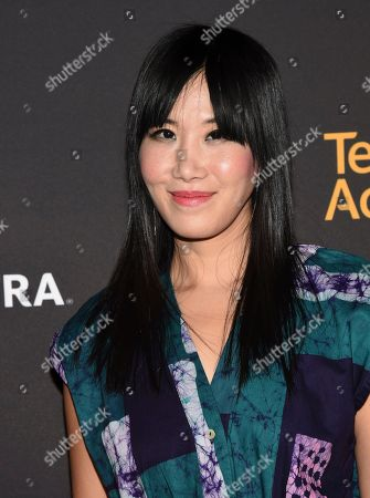 Vivian Bang arrives at the 2017 Dynamic and Diverse Emmy Nominee Reception presented by the Television Academy, at the Saban Media Center in North Hollywood, Calif