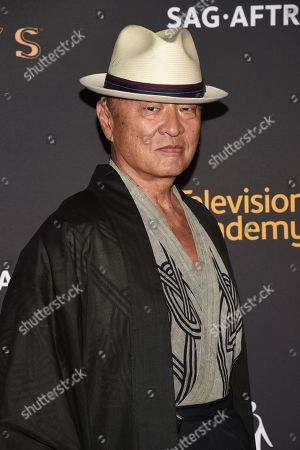 Cary-Hiroyuki Tagawa arrives at the 2017 Dynamic and Diverse Emmy Nominee Reception presented by the Television Academy, at the Saban Media Center in North Hollywood, Calif