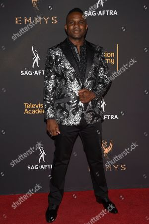 Darius McCrary arrives at the 2017 Dynamic and Diverse Emmy Nominee Reception presented by the Television Academy, at the Saban Media Center in North Hollywood, Calif