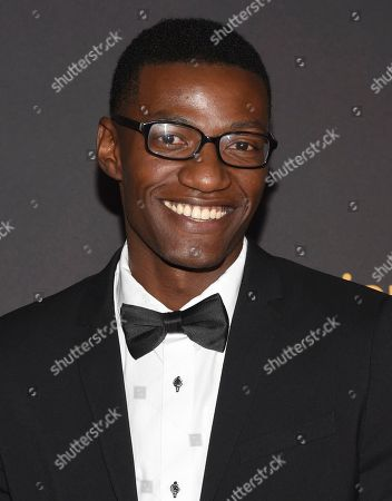 Brandon K. Hampton arrives at the 2017 Dynamic and Diverse Emmy Nominee Reception presented by the Television Academy, at the Saban Media Center in North Hollywood, Calif
