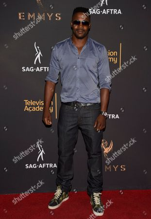Stock Image of Duane Henry arrives at the 2017 Dynamic and Diverse Emmy Nominee Reception presented by the Television Academy, at the Saban Media Center in North Hollywood, Calif