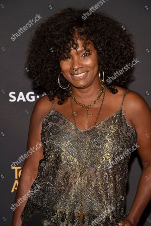 Vanessa Bell Calloway arrives at the 2017 Dynamic and Diverse Emmy Nominee Reception presented by the Television Academy, at the Saban Media Center in North Hollywood, Calif