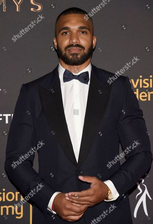 Tyler Lepley arrives at the 2017 Dynamic and Diverse Emmy Nominee Reception presented by the Television Academy, at the Saban Media Center in North Hollywood, Calif