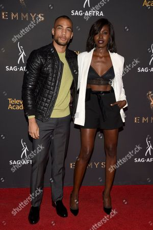 Kendrick Sampson, Anna Diop. Kendrick Sampson, left, and Anna Diop arrives at the 2017 Dynamic and Diverse Emmy Nominee Reception presented by the Television Academy, at the Saban Media Center in North Hollywood, Calif