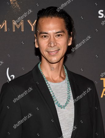 Kalani Queypo arrives at the 2017 Dynamic and Diverse Emmy Nominee Reception presented by the Television Academy, at the Saban Media Center in North Hollywood, Calif