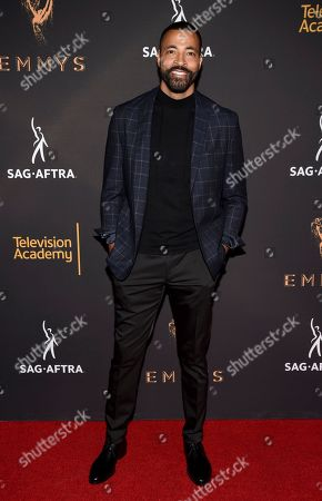 Timon Kyle Durrett arrives at the 2017 Dynamic and Diverse Emmy Nominee Reception presented by the Television Academy, at the Saban Media Center in North Hollywood, Calif