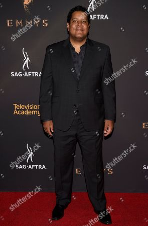 Chris Pierce arrives at the 2017 Dynamic and Diverse Emmy Nominee Reception presented by the Television Academy, at the Saban Media Center in North Hollywood, Calif