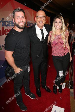 Stock Picture of Alex Mandel, Howie Mandel, Jackie Mandel