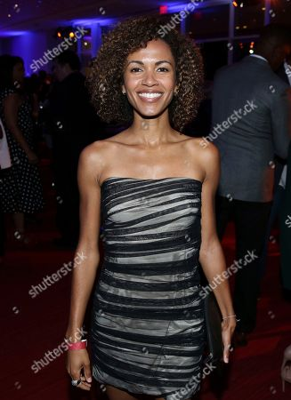 Erica Luttrell attends the 2017 Dynamic and Diverse Emmy Nominee Reception presented by the Television Academy, at the Saban Media Center in North Hollywood, Calif
