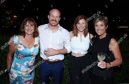 Stock Photo of Susan Nessanbaum-Goldberg, Jordan long, Tara Perry, Beth Talbert. Susan Nessanbaum-Goldberg, from left, Jordan long, Tara Perry, and Beth Talbert attend the 2017 Dynamic and Diverse Emmy Nominee Reception presented by the Television Academy, at the Saban Media Center in North Hollywood, Calif