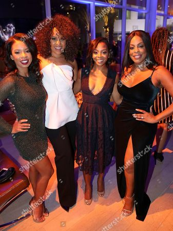 Danielle Mone Truitt, Kellee Stewart, Bresha Webb, Niecy Nash. Danielle Mone Truitt, from left, Kellee Stewart, Bresha Webb, and Niecy Nash attend the 2017 Dynamic and Diverse Emmy Nominee Reception presented by the Television Academy, at the Saban Media Center in North Hollywood, Calif