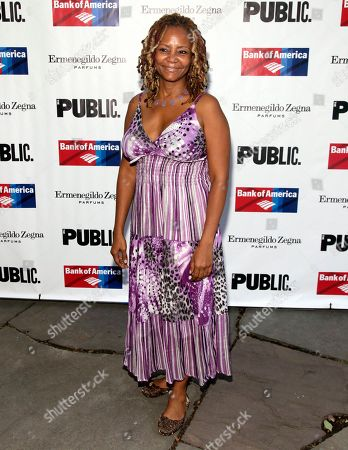 """Actress Tonya Pinkins attends the opening night of """"King Lear"""", in New York"""