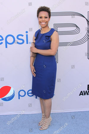 """Stock Image of Eunique Jones Gibson at the """"PRE"""" BET Awards Dinner at Milk Studios, in Los Angeles, Calif"""