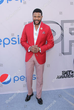 """Hosea Chanchez arrives at the """"PRE"""" BET Awards Dinner at Milk Studios, in Los Angeles, Calif"""