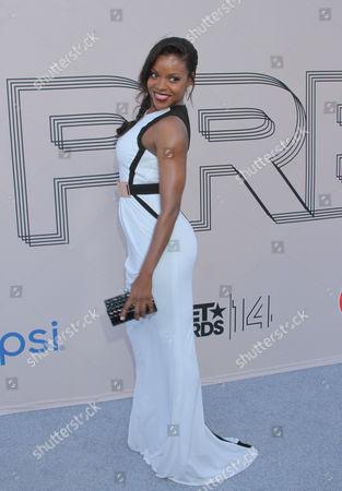 "Nadine Ellis at the ""PRE"" BET Awards Dinner at Milk Studios, in Los Angeles, Calif"