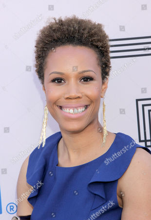 """Stock Photo of Eunique Jones Gibson at the """"PRE"""" BET Awards Dinner at Milk Studios, in Los Angeles, Calif"""