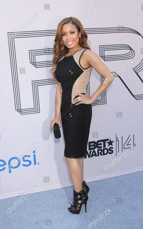 "Keshia Chante arrives at the ""PRE"" BET Awards Dinner at Milk Studios, in Los Angeles, Calif"