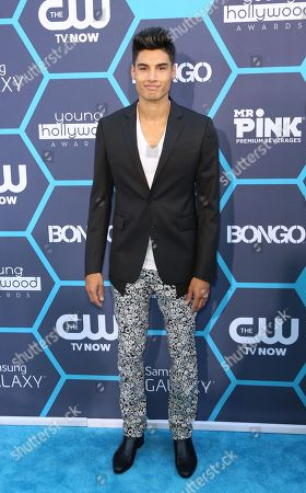 Siva Kaneswaran seen at the 16th Annual Young Hollywood Awards at The Wiltern on in Los Angeles, California