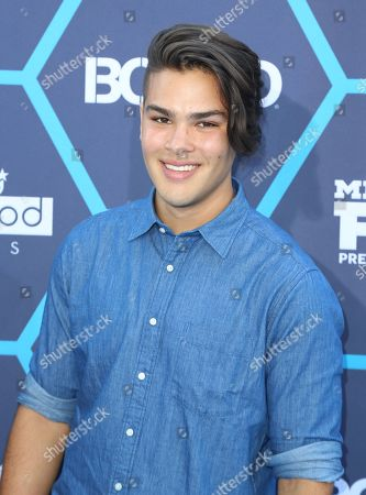 Stock Picture of Romeo Testa seen at the 16th Annual Young Hollywood Awards at The Wiltern on in Los Angeles, California