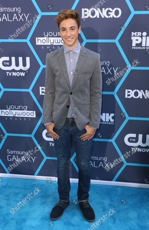 Stock Photo of Teo Halm seen at the 16th Annual Young Hollywood Awards at The Wiltern on in Los Angeles, California