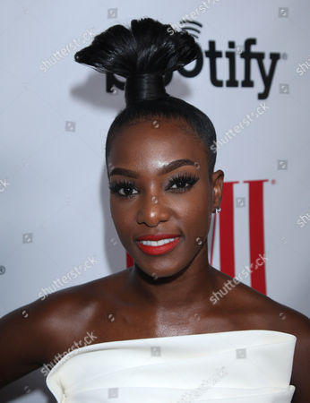 Stock Photo of JoiStarr at the BMI Urban Awards honoring Mariah Carey held at the Saban theatre, in Beverly Hills, Calif