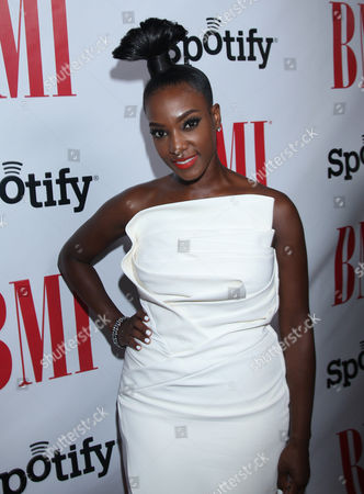 Stock Image of JoiStarr at the BMI Urban Awards honoring Mariah Carey held at the Saban theatre, in Beverly Hills, Calif