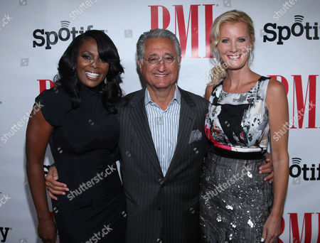 Catherine Brewton, BMI Vice President, Del Bryant, BMI President & CEO and Sandra Lee arrive at the BMI Urban Awards honoring Mariah Carey held at the Saban theatre, in Beverly Hills, Calif