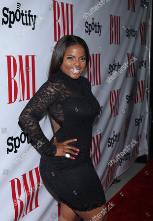 Brely Evans at the BMI Urban Awards honoring Mariah Carey held at the Saban theatre, in Beverly Hills, Calif