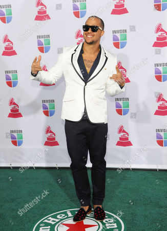 Skyblu arrives at the 13th Annual Latin Grammy Awards at Mandalay Bay, in Las Vegas