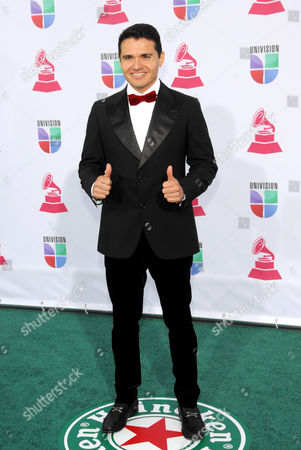 Horacio Palencia arrives at the 13th Annual Latin Grammy Awards at Mandalay Bay, in Las Vegas