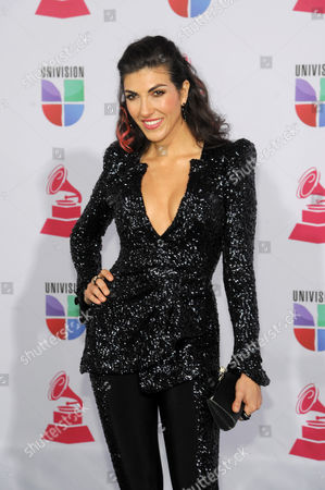 Stock Picture of Ana Victoria arrives at the 13th Annual Latin Grammy Awards at Mandalay Bay, in Las Vegas