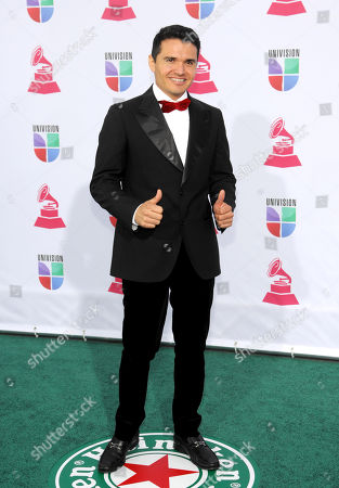 Stock Picture of Horacio Palencia arrives at the 13th Annual Latin Grammy Awards at Mandalay Bay, in Las Vegas