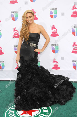 Editorial picture of 2012 Latin Grammy Awards Arrivals, Las Vegas, USA